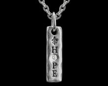 "HFM  Diamond Signature ""Hope"" charm Pendant (delivers in June pre-order now)"