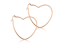 Large Heart Hoops (arriving late... pre-order for April 2021)