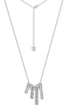 HFM Diamond Signature Charm Bib necklace (delivers in June pre-order now)
