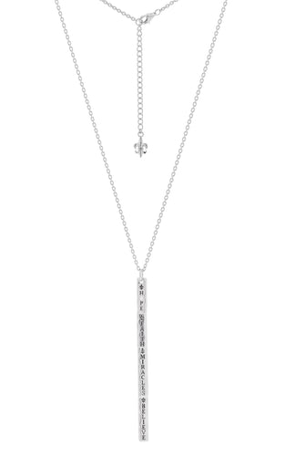 "HFM Diamond Signature charm ""Y"" necklace (delivers in June, pre-order now)"
