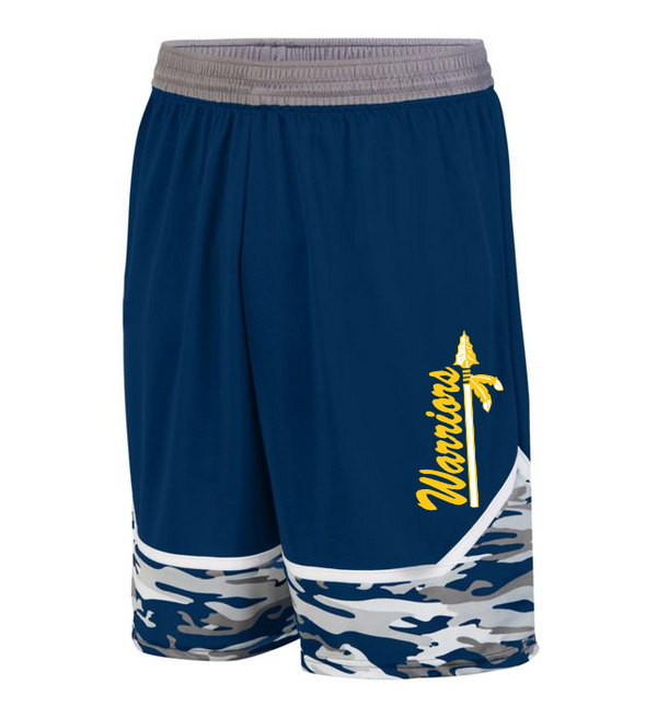 Warriors YOUTH MOD CAMO GAME SHORTS