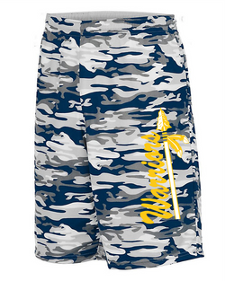 Warriors YOUTH REVERSIBLE WICKING SHORTS