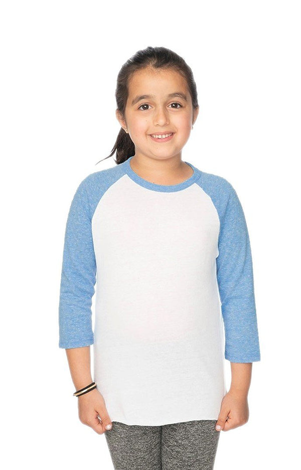 YOUTH TRIBLEND RAGLAN BASEBALL SHIRT
