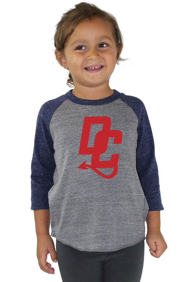 Toddler Triblend Raglan Baseball Shirt