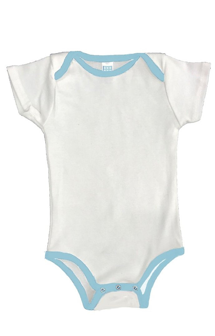 INFANT ONE PIECE CONTRAST BINDING