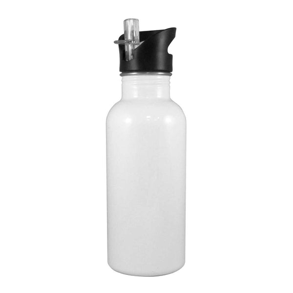 Stainless Steel Straw Top Water bottle