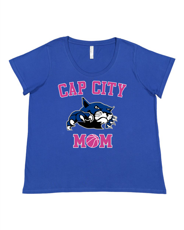 Cap City Ladies' Curvy Premium Jersey Tee