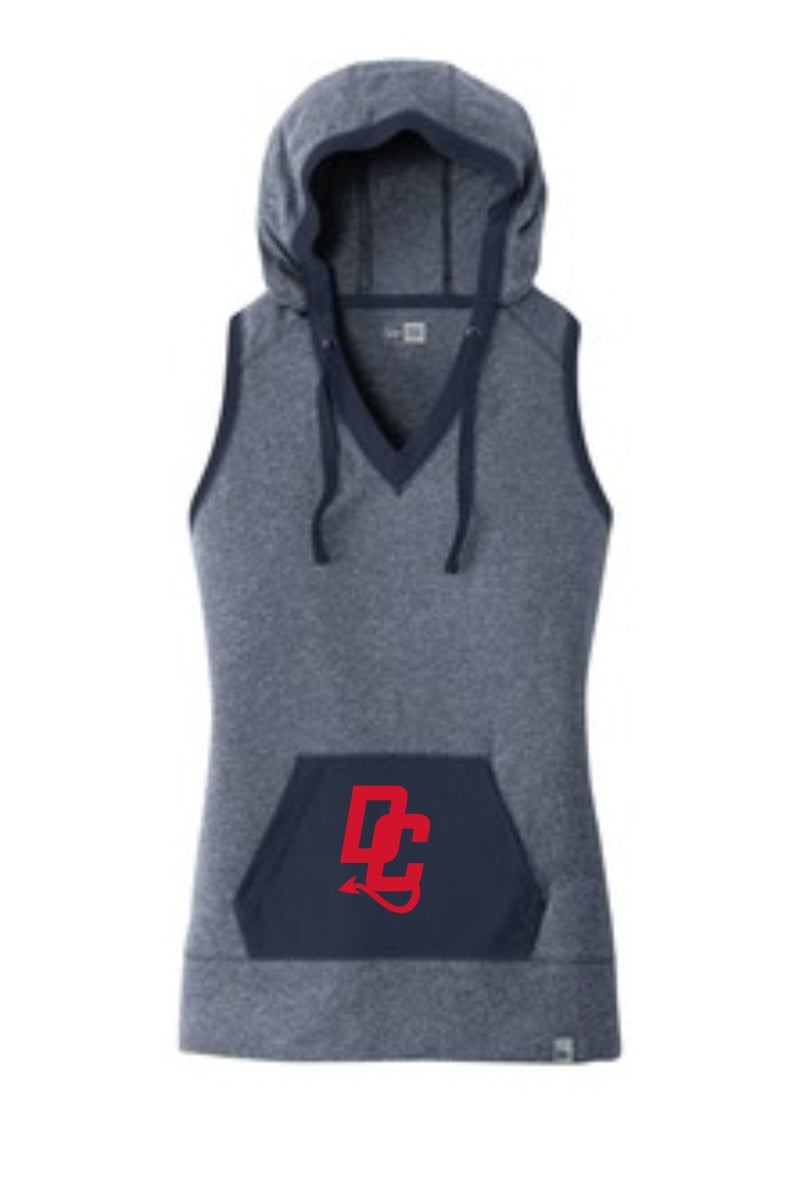 New Era Ladies Heritage Blend Hoodie Tank