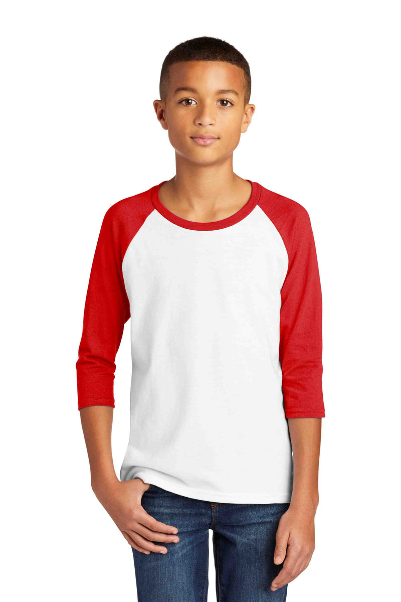 Gildan ® Heavy Cotton ™ Youth 3/4-Sleeve Raglan T-Shirt