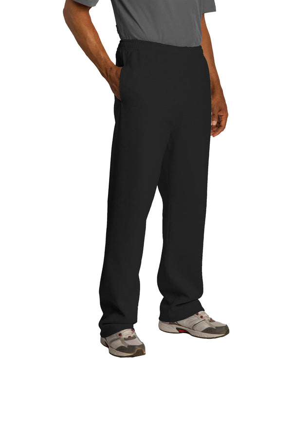 Greenbush Soccer Adult and Youth JERZEES NuBlend Open Bottom Pant with Pockets