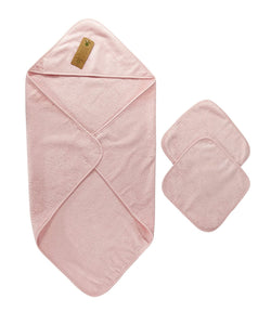 Arus Hooded Towel Baby Set