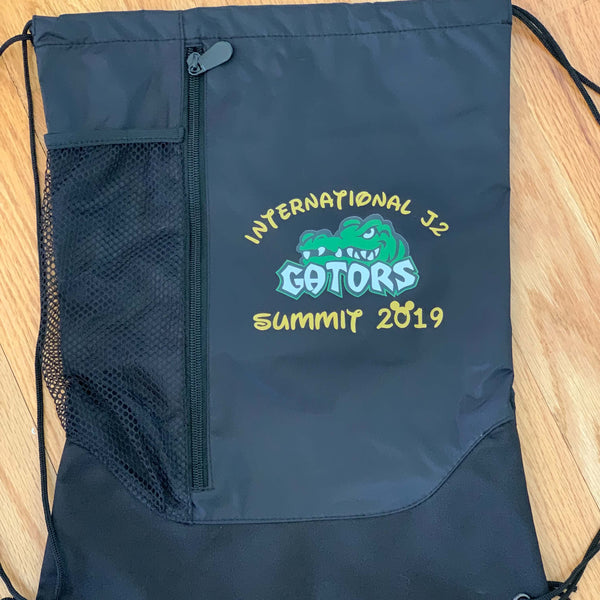 Personalized Augusta Tres Drawstring Backpack