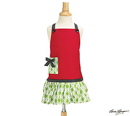 Kid's Holiday Apron
