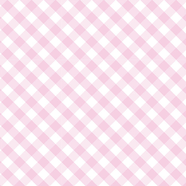Gingham Swaddle Blanket