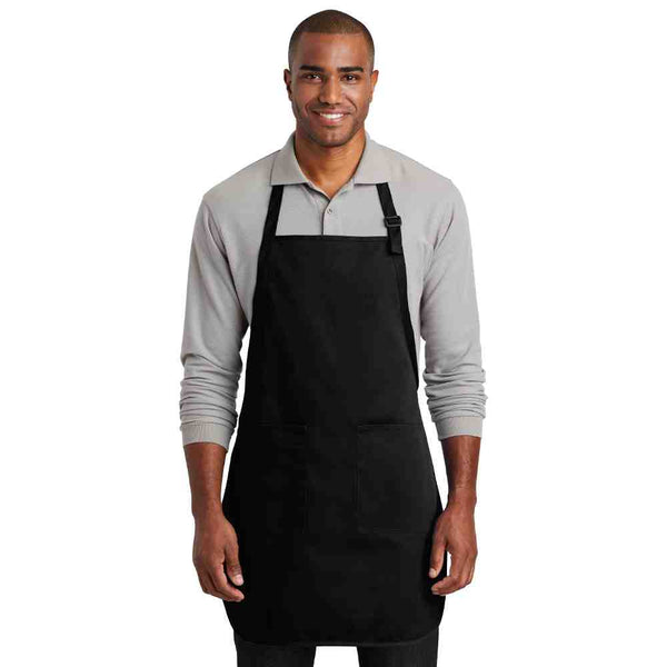 Port Authority ® Full-Length Two-Pocket Bib Apron