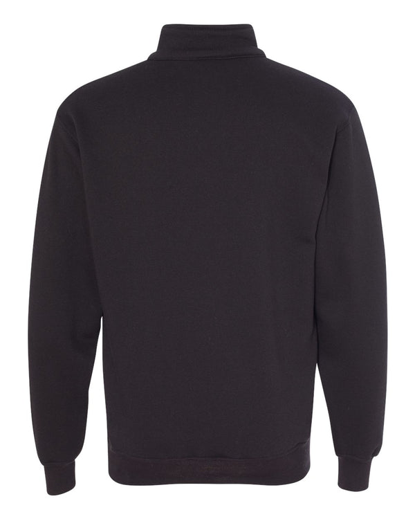 USA-Made Quarter-Zip Pullover Sweatshirt