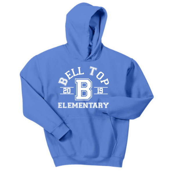 Bell Top Gildan® - Youth Heavy Blend™ Hooded Sweatshirt