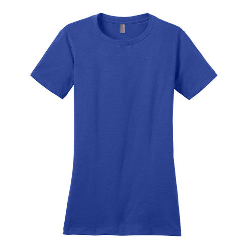 District Women's Perfect Weight Crew Neck Tee.