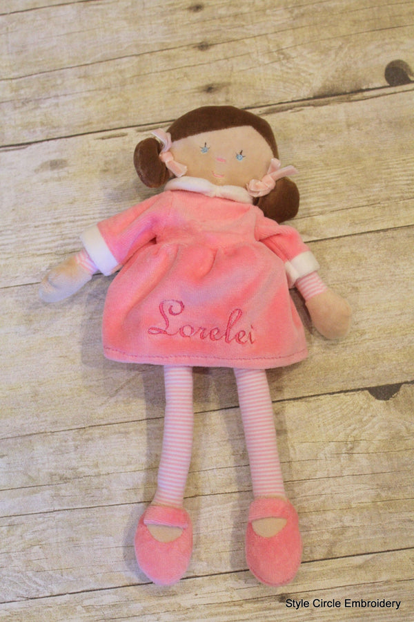 Personalized Louise French Doll
