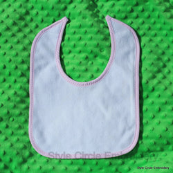 Two Layer Knit Terry Baby Bib
