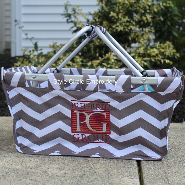 Corporate Logo Market Totes