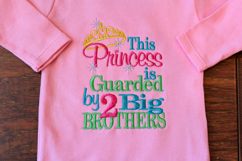 This Princess is Guarded by Two Big Brothers