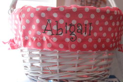 Polka Dot Easter Basket