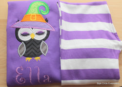 Sleepy Owl Personalized Kids Pajamas