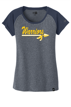 Warrios Ladies New Era Varsity Tee