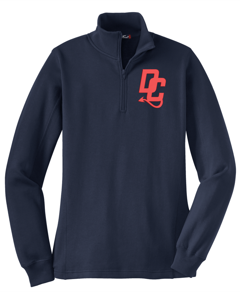 Devil Cats Sport-Tek Ladies 1/4-Zip Sweatshirt