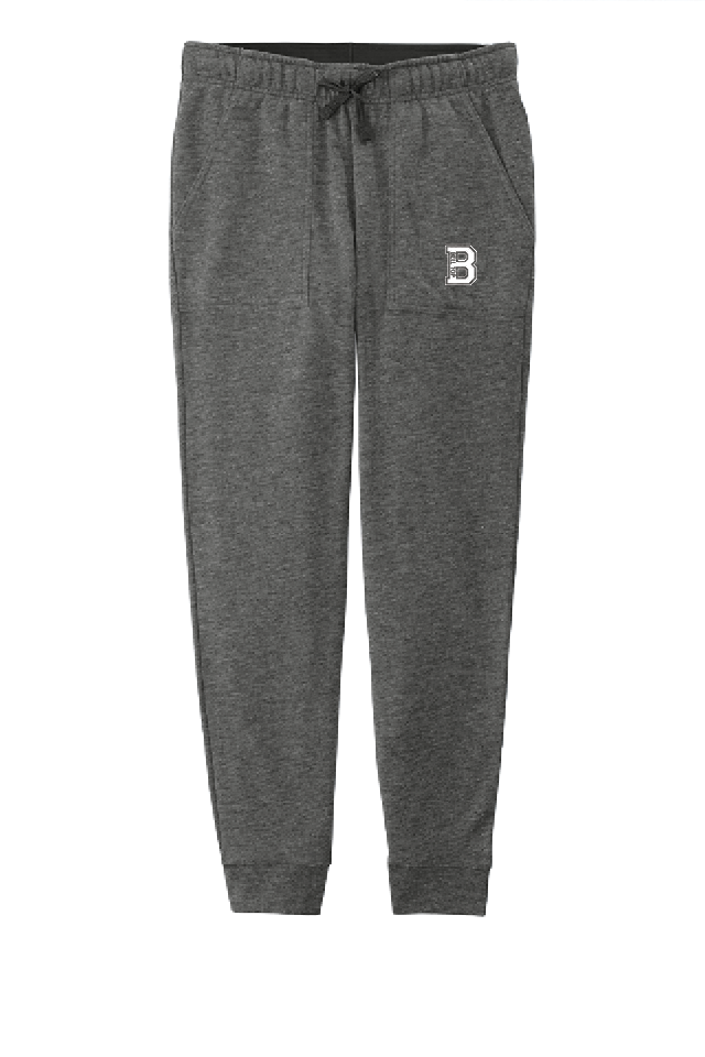 Bell Top Ladies PosiCharge Tri-Blend Wicking Fleece Jogger