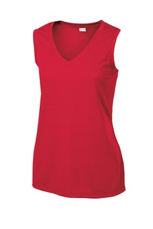 Sports Tek Ladies V-Neck Tank