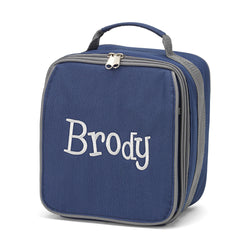 Insulated Navy Lunch Box
