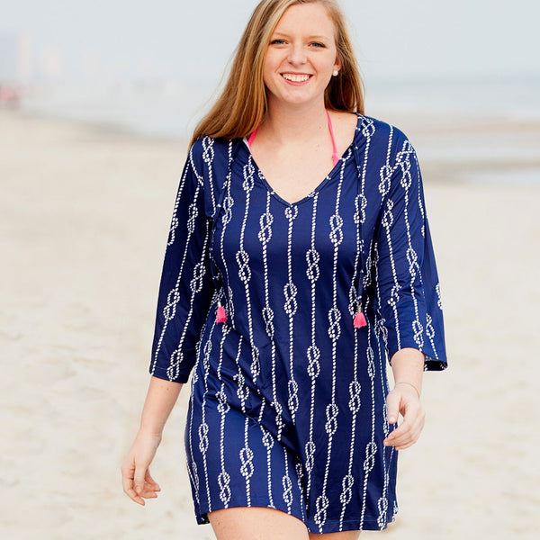 High Tide Tunic Swim Cover Up