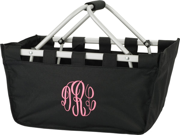 Black Mini Market Tote