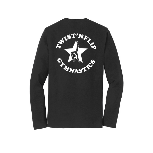 Gymnastics Long Sleeve Cotton Tee