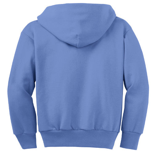 Bell Top Youth Core Fleece Full-Zip Hooded Sweatshirt