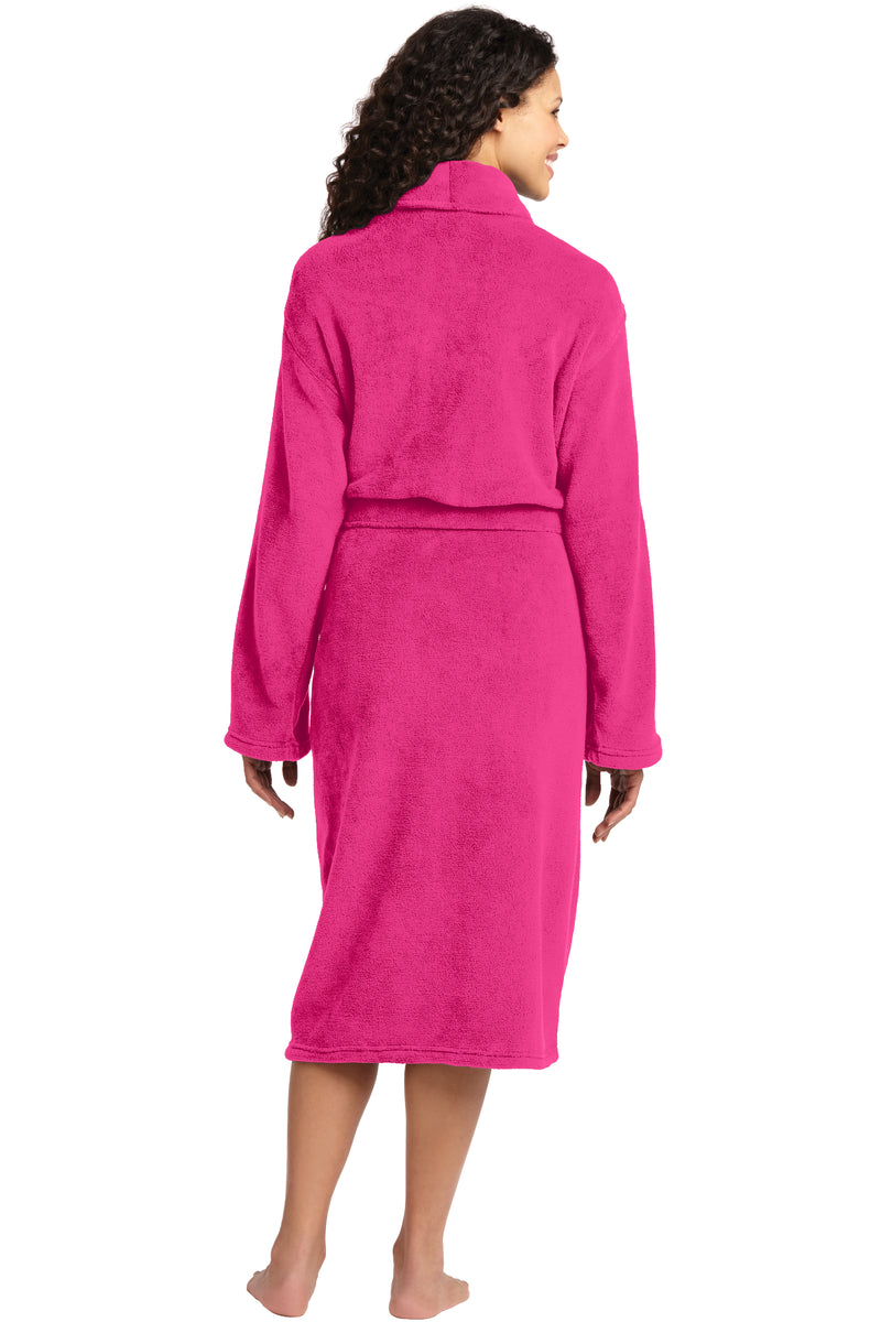 Port Authority Plush Microfleece Shawl Collar Robe