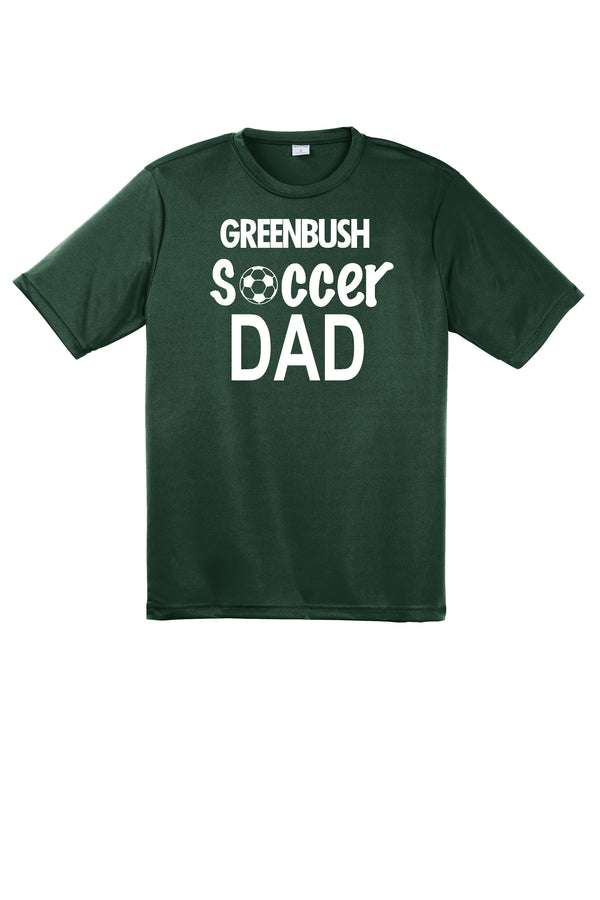 Dad Greenbush Soccer  Sport-Tek Performance Tee