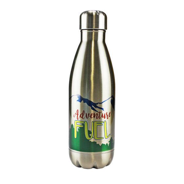Tapered Stainless Steel Water Bottle
