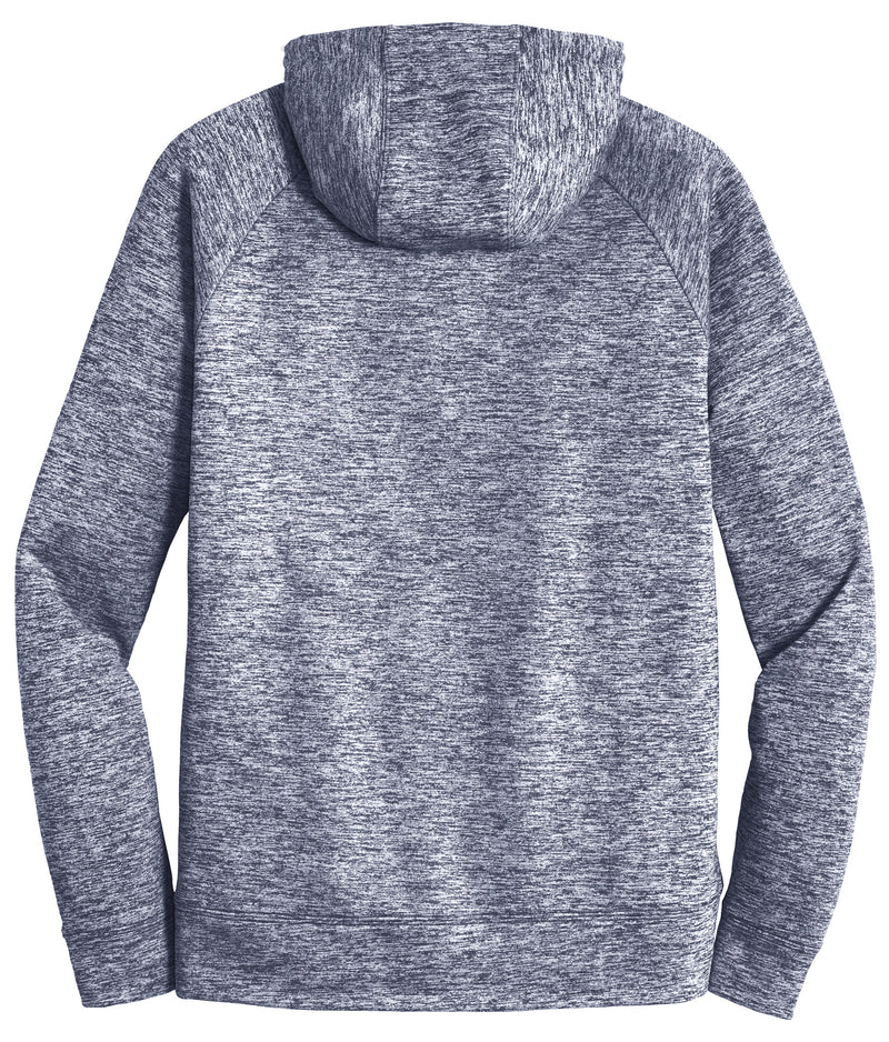Sport-Tek® PosiCharge® Electric Heather Fleece Hooded Pullover