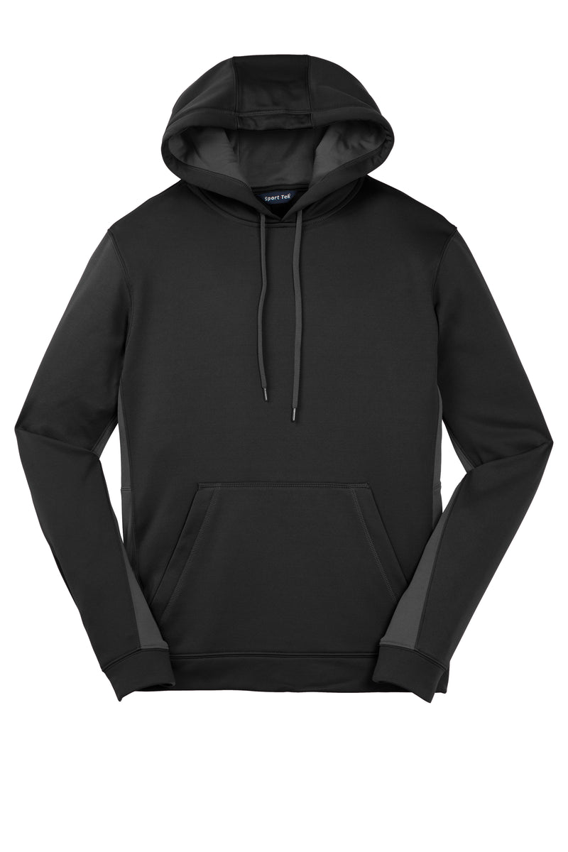 Sport-Tek Sport-Wick Fleece Colorblock Hooded Pullover