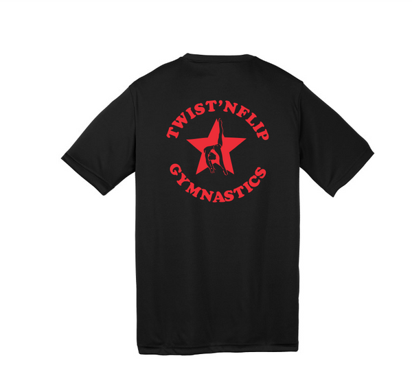 Twist 'N Flip Adult and Youth Performance Tee