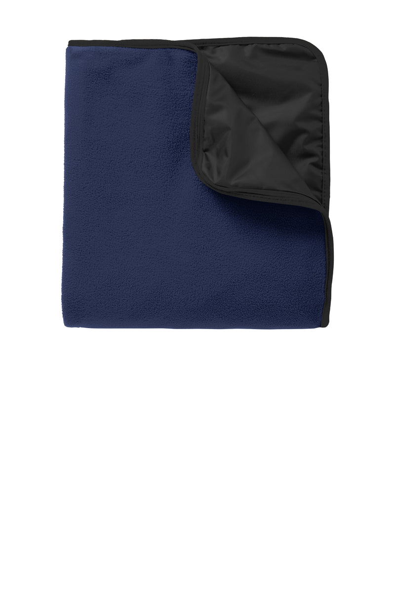 Warriros Fleece & Poly Travel Blanket