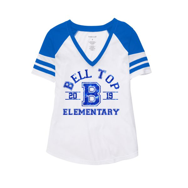 Bell Top Glitter Arena Tee