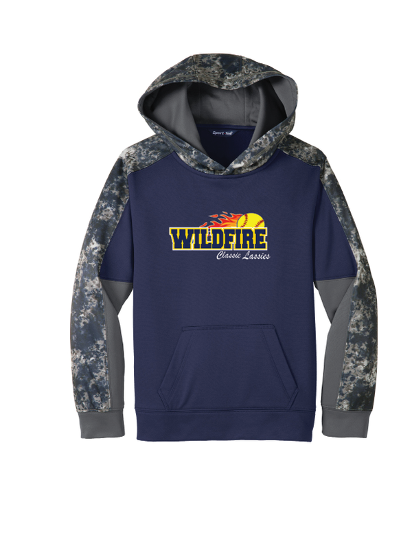 Wildfire Softball Sport-Tek Youth Sport-Wick Mineral Freeze Fleece Hoodie