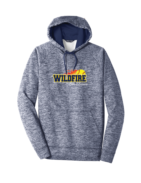 Wildfire Softball Electric Heather Fleece Hooded Pullover