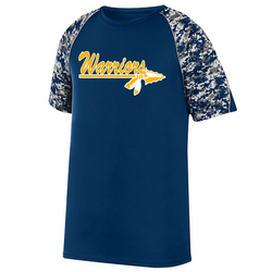Warriors Adult & YOUTH COLOR BLOCK DIGI CAMO JERSEY