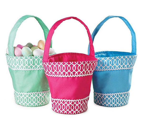 Monogrammed Cloth Easter Basket