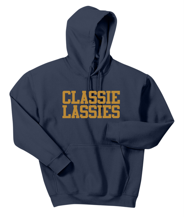 Classie Lassie Heavy Hooded Sweatshirt